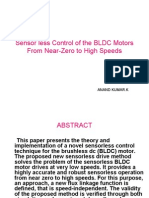 Speed Control of BLDC Motor | Power Inverter | Electric Motor