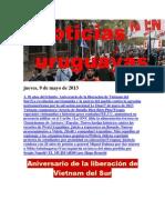 Noticias Uruguayas Jueves 9 de Mayo Del 2013