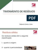 Tratamento de resíduos(1)
