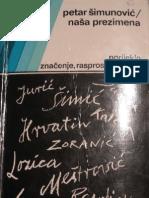 Šimunović, Petar - Naša prezimena (1985)