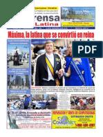 Prensa Latina Mes de Mayo 2013