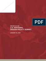 US national design policy summit report