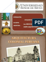 Arquitectura Colonial Peruana Final