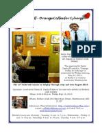 Kevin Dayhoff opens art exhibit Birdie's Café Westminster Fri May 10, 2013