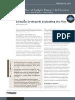 Compass Financial - Fidelity - Stimulus Scorecard