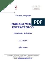Programa Management Estratégico UB 2008