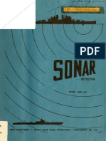 Sonar-Detector of Submerged Submarines
