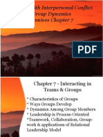 Komives Ch. 7 Group Leaderships Conflict Resolution