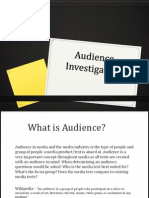 A2 Audience Research