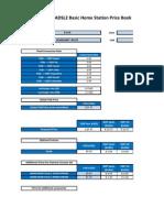 D-Link BHS ADSL2 Price Book Version 1