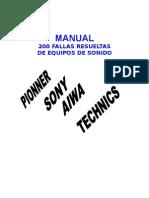 200 Fallas Resueltas y Comentadas en Equipos de Audio.pdf