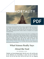 STEPHEN CAVE -- What Science Really Says About the Soul