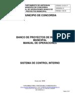 Manual Operaciones Babco Programas y Proyectosconcordia