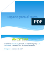 Anestesia Qx
