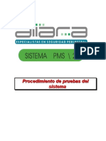 Procedimiento de Pruebas Del Sistema PMS2