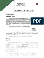 Fundición de Metales