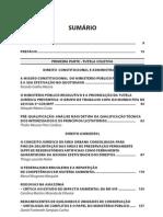 Sumario - Temas Aprofundados Do Ministerio Publico Federal