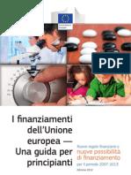 Guida Finanziamenti Comunità Europea