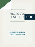 Protocolo Script English