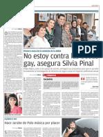 No estoy contra las bodas gay, Silvia Pinal