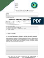 PROJETO DE TRABALHO- PRÁTICAS ACADÊMICAS- revisado