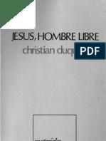 Duquoc, Christian - Jesus Hombre Libre