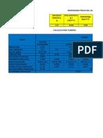 Cálculos Hidráulicos M-1, M-2, M-4 abiertos