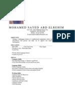 Mohamed Sayed. O