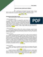 FQ I- Massa Molar de Gases e Vapores