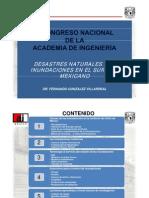Fernando Gonzalez Villarreal-Desastres Naturales