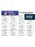 Big Blue Schedule 2009 Final