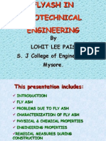 FLY-ASH IN GEOTECHNICAL ENGINEERING