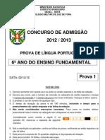 Prova1Port6ano2012
