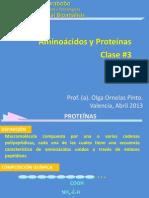 Clase#3 Aminoacidos y Proteinas