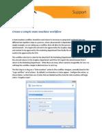Using State Machine Workflows