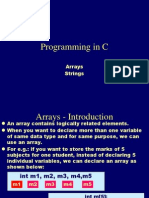 Arrays in C