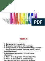 Tema 1 Generalidades Sistema Inmune