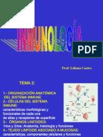 Células y tejidos sistema inmune