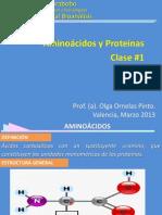 Clase#1 Aminoacidos y Proteinas