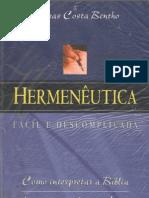 Hermenêutica Fácil e  Descomplicada -Esdras Costa Bentho