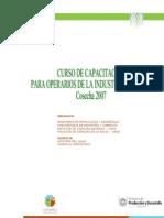 CURSO DE CAPACITACIÓN PARA OPERARIOS DE LA INDUSTRIA ACEITERA OLIVÍCOLA