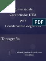 Seminário Topografia