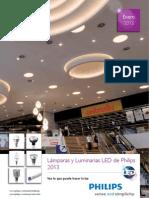Luminarias y Lamparas LED 2013 - Philips