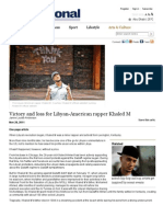 Victory and Loss for Libyan-American Rapper Khaled M - The National