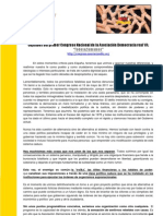 Asociación DRY - Objetivos del Primer Congreso de DRY (TodosSumamos)