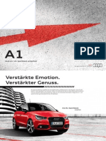 Audi A1 amplified Catalogue (Germany, 2013)