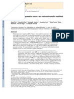 BRCA1 tumor suppression occurs via heterochromatin mediatedsilencing