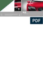 Audi R8 Catalogue (Germany, 2013)