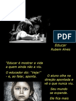 EDUCAR - Rubem Alves
