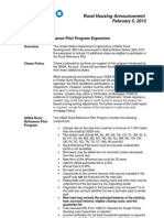 2 5 13 usda rural refinance pilot program expansion final 020513